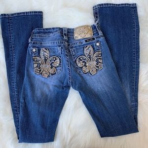 Miss Me Jeans Mid-Rise Boot Cut Size 24